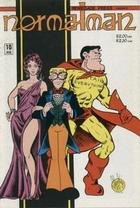 Cover Thumbnail for normalman (Renegade Press, 1985 series) #10