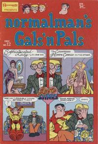 Cover Thumbnail for normalman (Renegade Press, 1985 series) #12