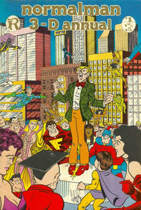Cover Thumbnail for normalman Annual (Renegade Press, 1986 series) #1