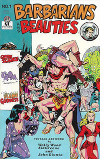 Cover Thumbnail for Barbarians and Beauties (AC, 1990 series) #1