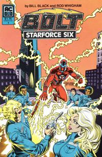 Cover Thumbnail for Bolt and Starforce Six (AC, 1984 series) #1