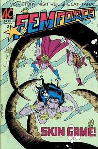 Cover for FemForce (AC, 1985 series) #3