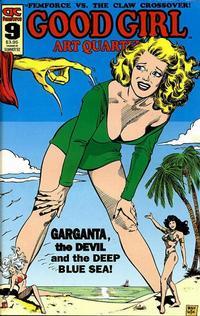 Cover Thumbnail for Good Girl Art Quarterly (AC, 1990 series) #9