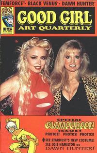 Cover Thumbnail for Good Girl Art Quarterly (AC, 1990 series) #15