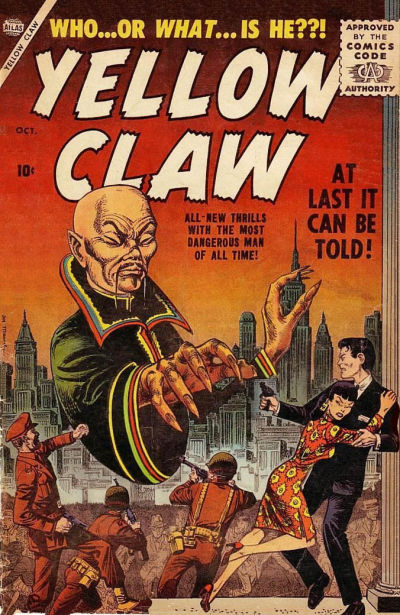 Cover for Yellow Claw (Marvel, 1956 series) #1