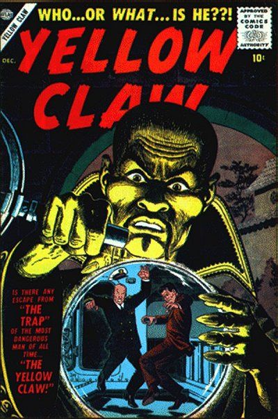 Cover for Yellow Claw (Marvel, 1956 series) #2