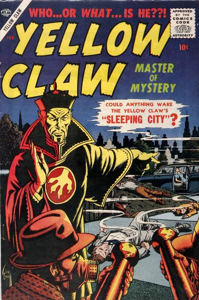 Cover for Yellow Claw (Marvel, 1956 series) #3