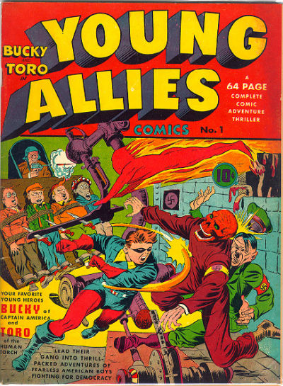 Cover for Young Allies (Marvel, 1941 series) #1