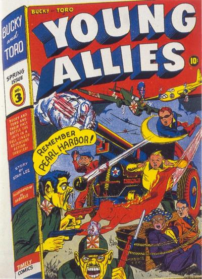 Cover for Young Allies (Marvel, 1941 series) #3