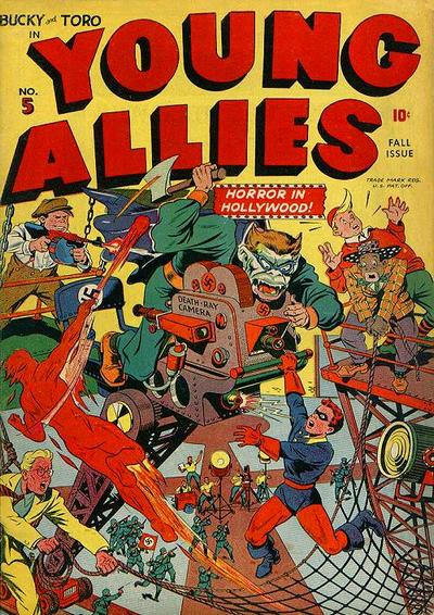 Cover for Young Allies (Marvel, 1941 series) #5