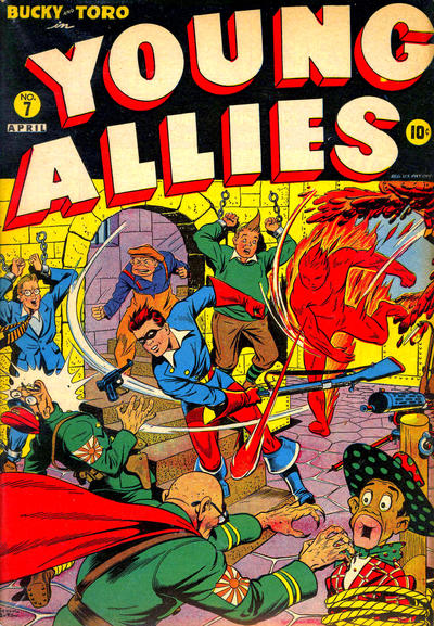 Cover for Young Allies (Marvel, 1941 series) #7