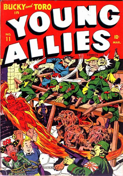 Cover for Young Allies (Marvel, 1941 series) #11