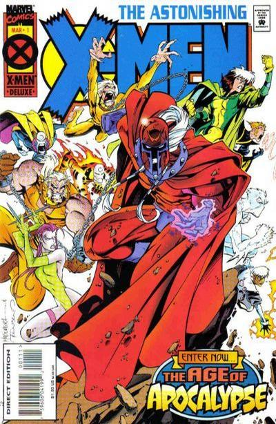 Cover for Astonishing X-Men (Marvel, 1995 series) #1 [Direct Edition]