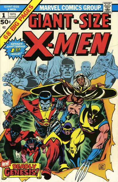 Cover for Giant-Size X-Men (Marvel, 1975 series) #1