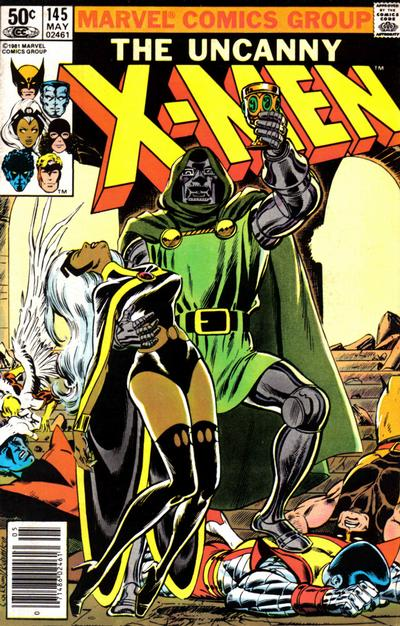 Cover for The Uncanny X-Men (Marvel, 1981 series) #145 [Newsstand]