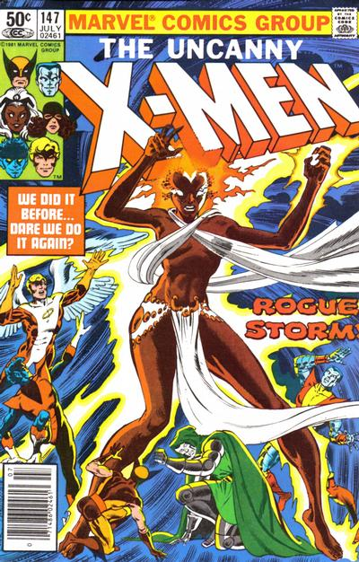 Cover for The Uncanny X-Men (Marvel, 1981 series) #147 [Newsstand]
