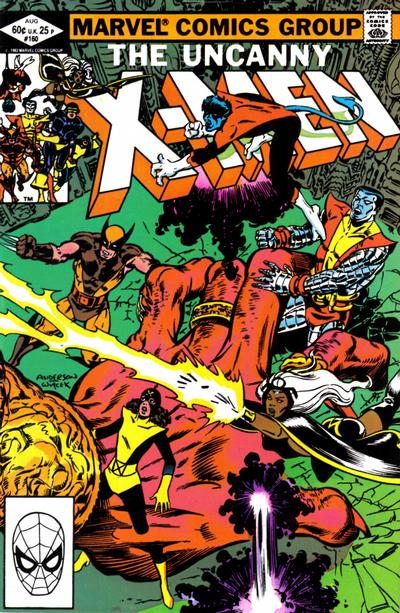 Cover for The Uncanny X-Men (Marvel, 1981 series) #160