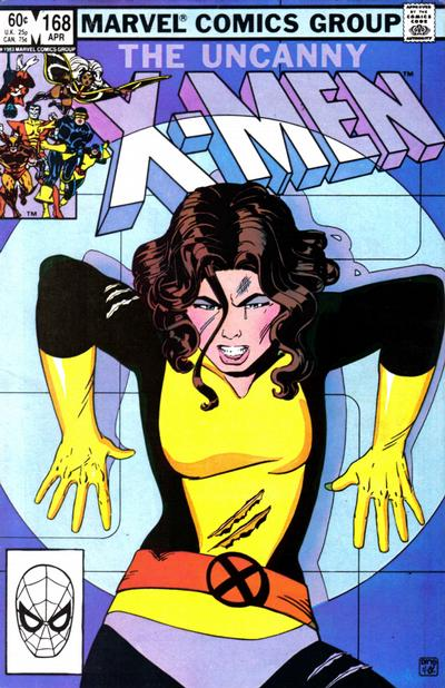 Cover for The Uncanny X-Men (Marvel, 1981 series) #168
