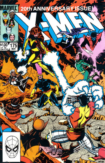 Cover for The Uncanny X-Men (Marvel, 1981 series) #175 [Newsstand]
