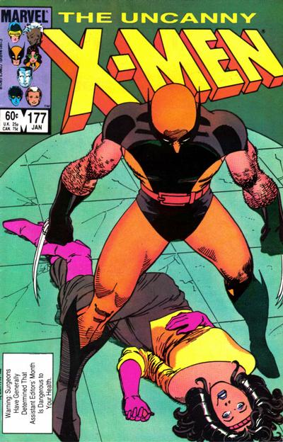 Cover for The Uncanny X-Men (Marvel, 1981 series) #177