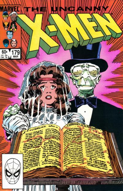 Cover for The Uncanny X-Men (Marvel, 1981 series) #179