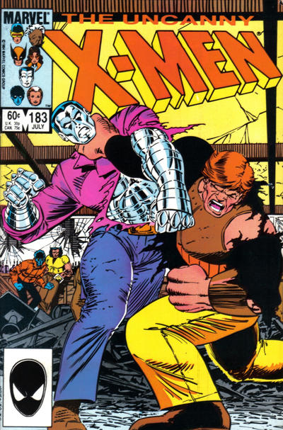 Cover for The Uncanny X-Men (Marvel, 1981 series) #183 [Canadian]
