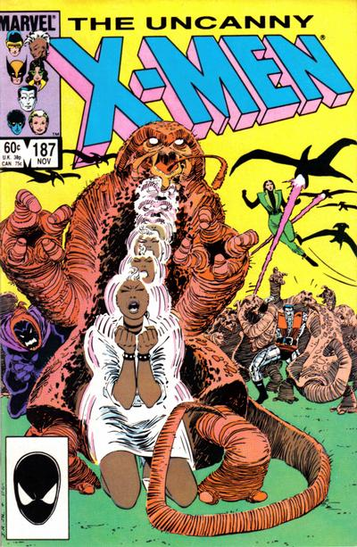 Cover for The Uncanny X-Men (Marvel, 1981 series) #187 [Direct]