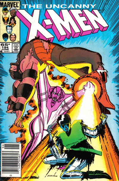 Cover for The Uncanny X-Men (Marvel, 1981 series) #194 [Direct Edition]