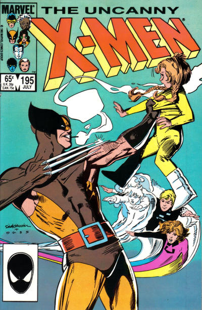 Cover for The Uncanny X-Men (Marvel, 1981 series) #195