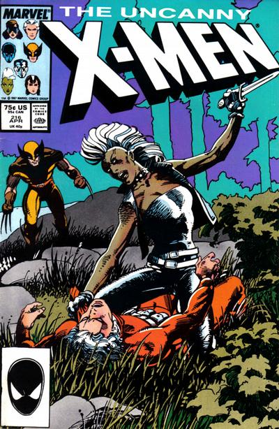 Cover for The Uncanny X-Men (Marvel, 1981 series) #216 [Newsstand]