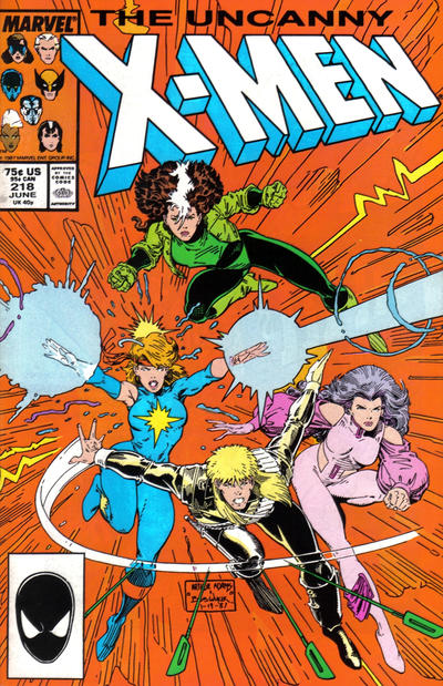 Cover for The Uncanny X-Men (Marvel, 1981 series) #218 [Direct Edition]