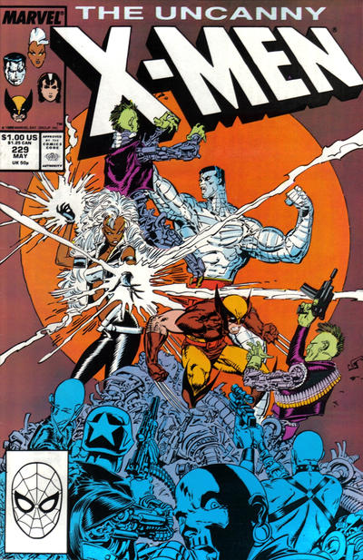 Cover for The Uncanny X-Men (Marvel, 1981 series) #229 [Newsstand]