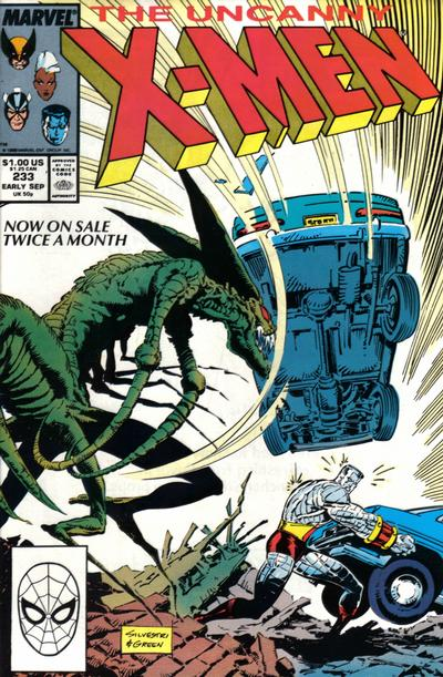 Cover for The Uncanny X-Men (Marvel, 1981 series) #233 [Direct]