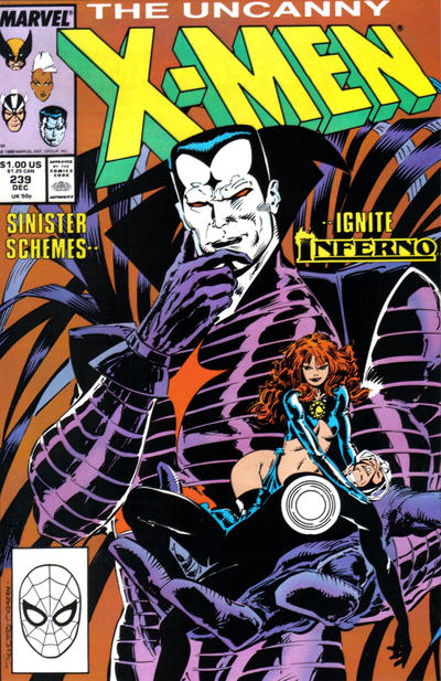 Cover for The Uncanny X-Men (Marvel, 1981 series) #239 [Newsstand]