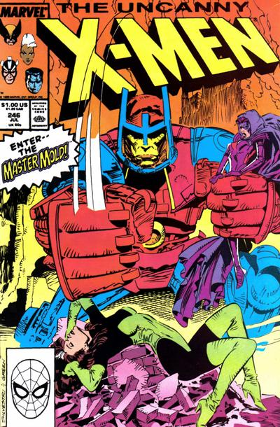 Cover for The Uncanny X-Men (Marvel, 1981 series) #246 [Newsstand]