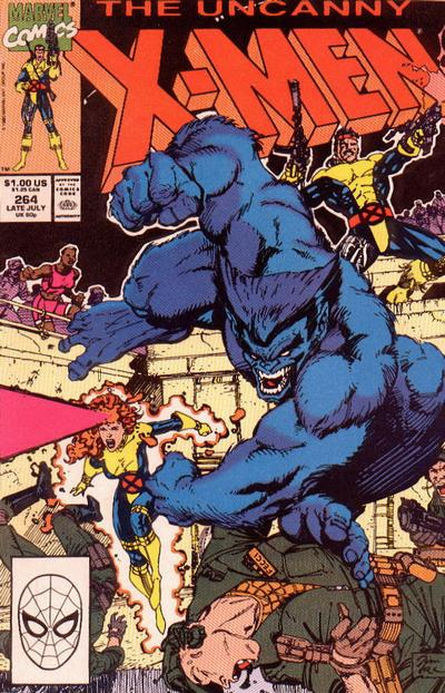 Cover for The Uncanny X-Men (Marvel, 1981 series) #264