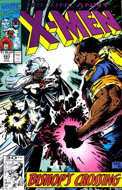 Cover for The Uncanny X-Men (Marvel, 1981 series) #283 [Australian]