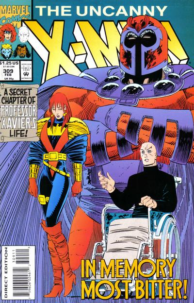 Cover for The Uncanny X-Men (Marvel, 1981 series) #309 [Newsstand]