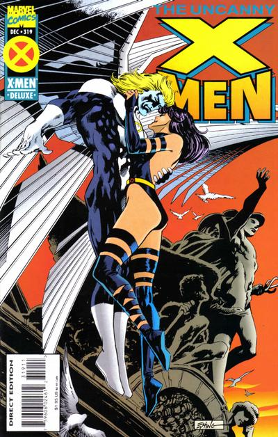Cover for The Uncanny X-Men (Marvel, 1981 series) #319 [Direct Regular Edition]