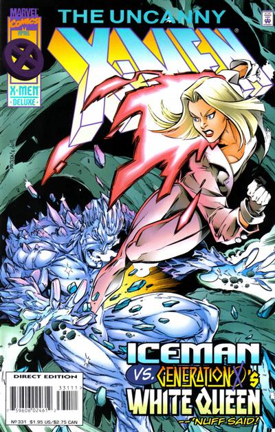 Cover for The Uncanny X-Men (Marvel, 1981 series) #331 [Newsstand]