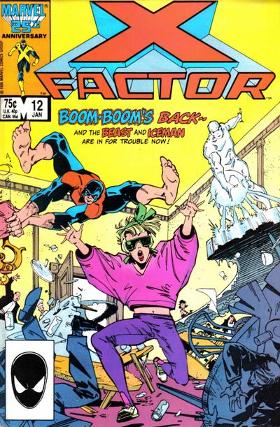 Cover for X-Factor (Marvel, 1986 series) #12 [Direct Edition]