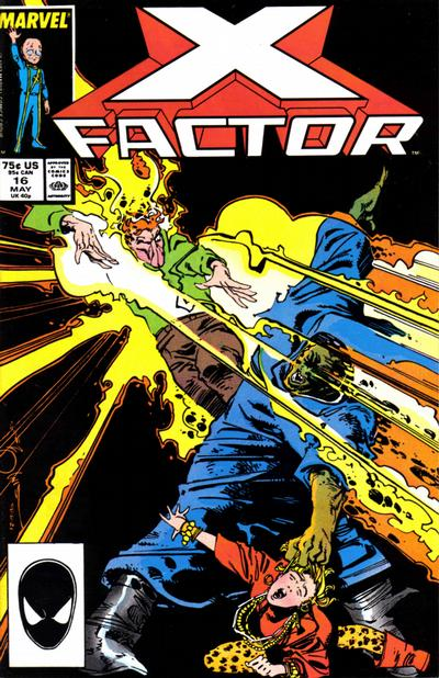 Cover for X-Factor (Marvel, 1986 series) #16 [Direct Edition]