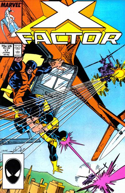 Cover for X-Factor (Marvel, 1986 series) #17 [Direct Edition]