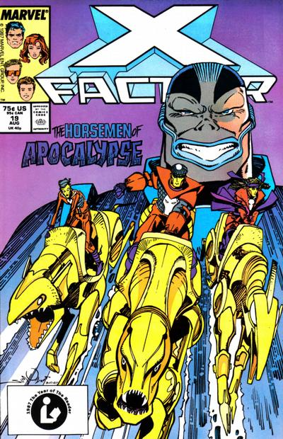 Cover for X-Factor (Marvel, 1986 series) #19 [Newsstand Edition]