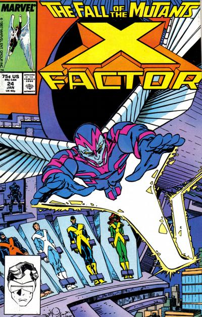 Cover for X-Factor (Marvel, 1986 series) #24 [Direct Edition]