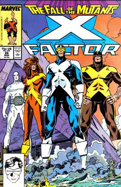 Cover for X-Factor (Marvel, 1986 series) #26 [Direct Edition]