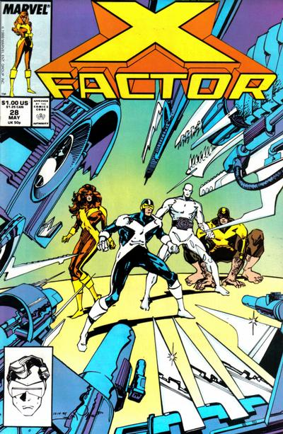 Cover for X-Factor (Marvel, 1986 series) #28 [Direct Edition]