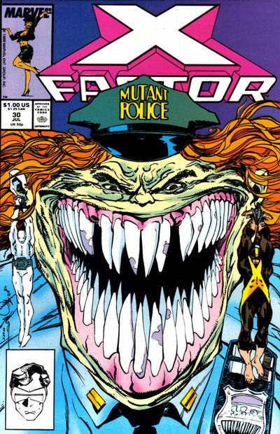 Cover for X-Factor (Marvel, 1986 series) #30 [Direct Edition]