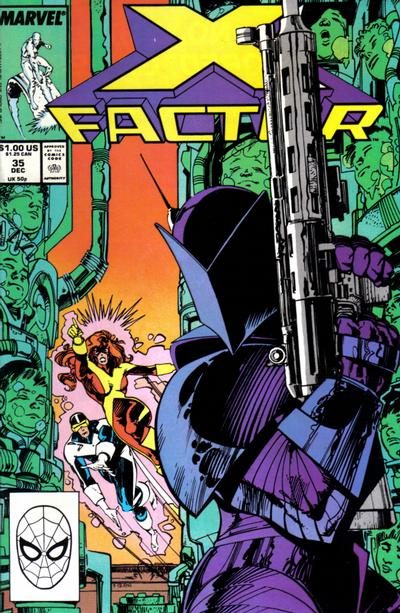 Cover for X-Factor (Marvel, 1986 series) #35 [Direct Edition]
