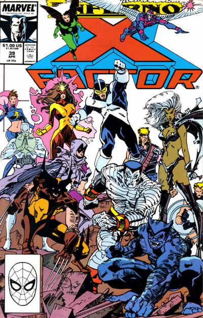 Cover for X-Factor (Marvel, 1986 series) #39 [Direct Edition]